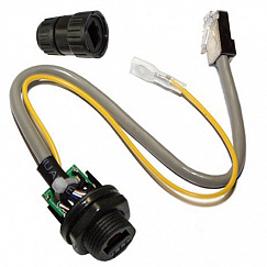RF elements RJ45 Waterproof Connector - grounded